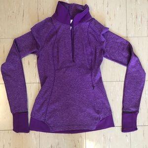 2/$100 NWOT Lululemon Half Zip Reflective Purple